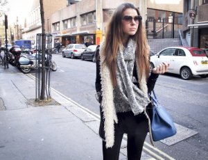 Beautiful winter look, comfy and stylish!