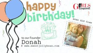 HAPPY BIRTHDAY DONAH