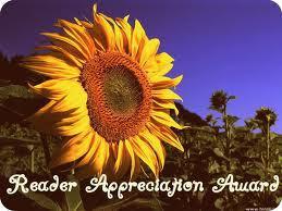 Reader Appreciation Award...I feel blessed!