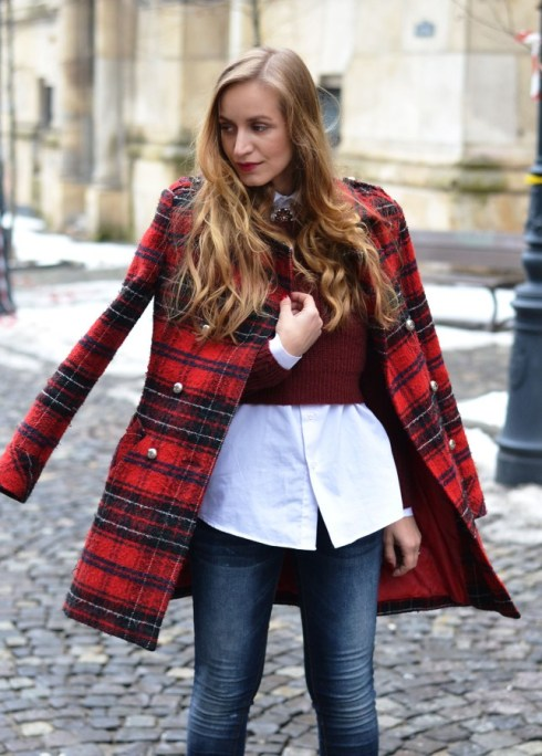 winter-street-style-plaid-coat
